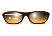 Calvin Klein 3014 Replacement Sunglass Lenses - 54mm wide