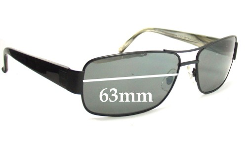 CYMA SCM-1010 Replacement Sunglass Lenses - 63mm Wide lenses