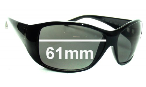Calvin Klein 3067S Replacement Sunglass Lenses - 61mm wide