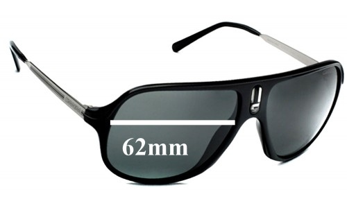 Carrera Safari/R Replacement Sunglass Lenses - 62mm wide