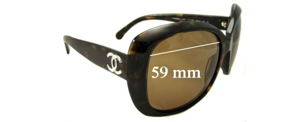 6596959255cf4 Chanel CH5183 Replacement Lenses 59mm by The Sunglass Fix®