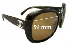 Chanel CH5183 Replacement Sunglass Lenses - 59mm wide