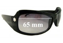 Christelle 2158 Replacement Sunglass Lenses - 65mm Wide
