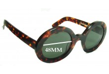 Chronicles of Never Earth Bears Metal Replacement Sunglass Lenses - 48mm Wide