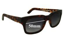 Chronicles of Never Choroid Plexus New Sunglass Lenses - 50mm Wide