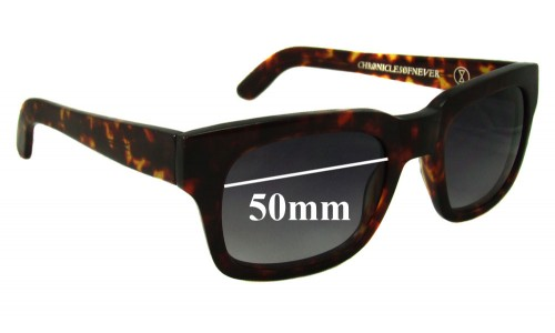 Chronicles of Never Choroid Plexus New Sunglass Lenses - 50mm Wide