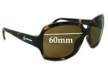 Calvin Klien CK3099S Replacement Sunglass Lenses 60mm Wide