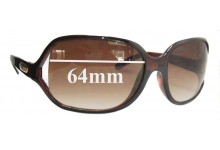 Dirty Dog Gemster Replacement Sunglass Lenses - 64MM wide
