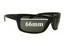 Dolce & Gabbana D&G Replacement Sunglass Lenses- 66mm Wide