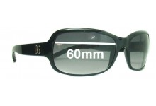 Dolce & Gabbana DG632S Replacement Sunglass Lenses- 60mm Wide