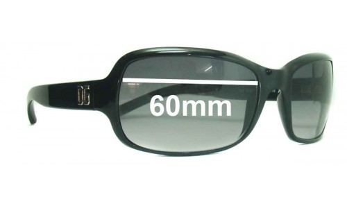 Dolce & Gabbana DG632S New Sunglass Lenses- 60mm Wide