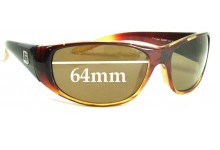 Dirty Dog Cougar Replacement Sunglass Lenses - 64MM wide