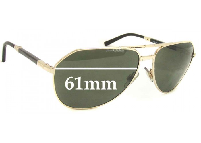 SFX Replacement Sunglass Lenses fits Dolce /& Gabbana DG2087 62mm Wide