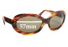 Dolce & Gabbana DG514S Replacement Sunglass Lenses - 57mm wide