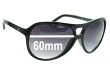 Dolce & Gabbana DG8070 Replacement Sunglass Lenses - 60mm wide