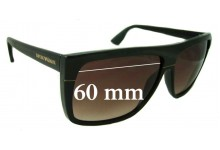 EMPORIO ARMANI 9605/S Replacement Sunglass Lenses - 60mm Wide