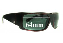 Sunglass Fix New Replacement Lenses for Electric Hoy Inc. - 64mm Wide
