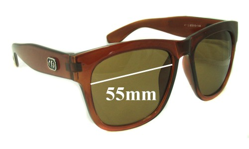 Electric A113 Replacement Sunglass Lenses - 55mm Wide