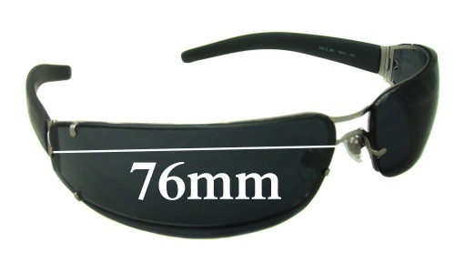 EMPORIO ARMANI EA206-S Replacement Sunglass Lenses - 76mm wide