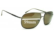Ermenegildo Zegna SZ 3018N Replacement Sunglass Lenses - 59mm wide