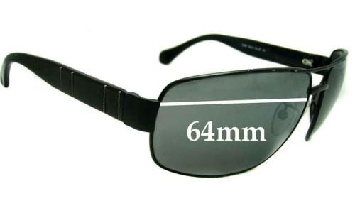 Ermenegildo Zegna SZ 3047 Replacement Sunglass Lenses - 64mm wide