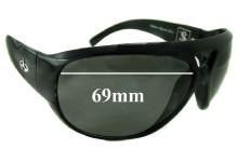 Evoke Sepultura BK004 Replacement Sunglass Lenses - 69mm Wide