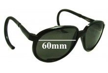 Faberge 4859-BZ Replacement Sunglass Lenses  - 60mm Wide