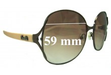 Fiorelli Unknown Replacement Sunglass Lenses - 59mm wide