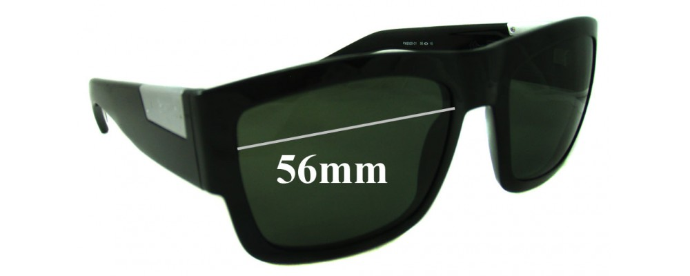 ef5a0a5ff04 Fox The Decorum Sunglass Replacement Lenses - 56mm Wide