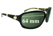 Fox The Intro Replacement Sunglass Lenses - 64mm Wide