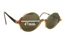 Giorgio Armani  GA 326 Replacement Sunglass Lenses - 47mm wide