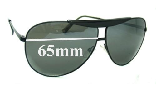 Giorgio Armani  GA 487/S Replacement Sunglass Lenses - 65mm wide
