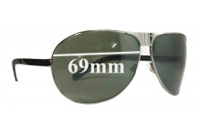Gucci GG1813 Replacement Sunglass Lenses - 69mm wide