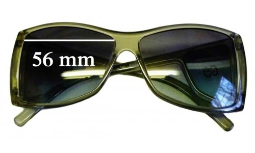 Gucci GG2466 Strass New Sunglass Lenses - 56mm wide by 44mm tall