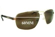 Guess GUF102 Replacement Sunglass Lenses - 60mm