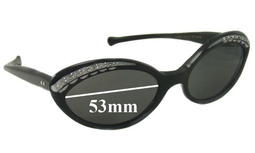 GHG New Sunglass Lenses - 53mm wide