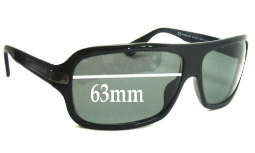Giorgio Armani  GA 551S Replacement Sunglass Lenses - 63mm wide