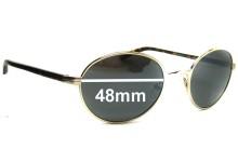 Giorgio Armani  GA 321S Replacement Sunglass Lenses - 48mm wide