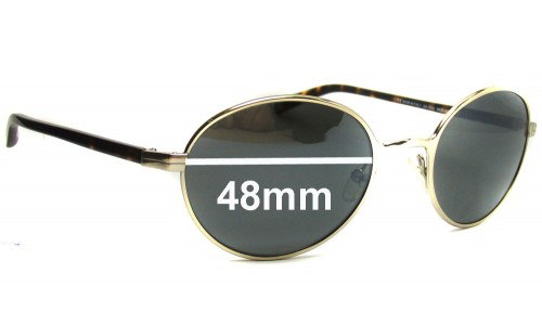 Giorgio Armani  GA 321S Replacement Sunglass Lenses - 48mm wide