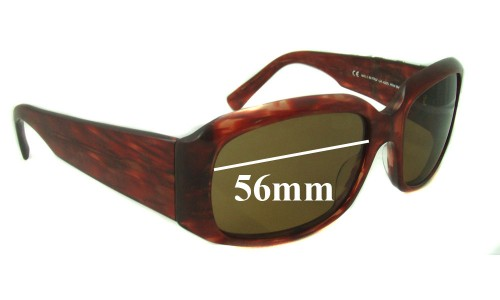 Giorgio Armani GA 432 Replacement Sunglass Lenses - 56mm wide