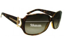 Gucci GG 3168/S Replacement Sunglass Lenses - 58mm wide