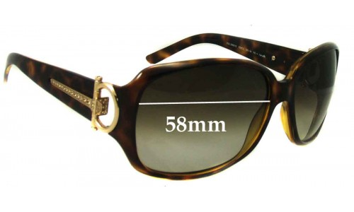 Gucci GG 3168/S New Sunglass Lenses - 58mm wide