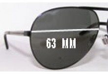 Gucci GG1933/S Replacement Sunglass Lenses - 63mm Wide