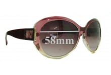 Juicy Couture Atlanta-S Replacement Sunglass Lenses - 58mm wide