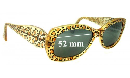 Jean Lafont - Jamaique 380 Replacement Sunglass Lenses - 52mm wide
