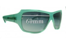 Lisa Ho LH214/S Replacement Sunglass Lenses - 60mm Wide