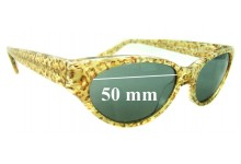 Jean Lafont - Dame 558 Replacement Sunglass Lenses - 50mm wide