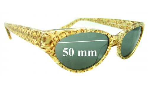 Jean Lafont - Dame 558 New Sunglass Lenses - 50mm wide