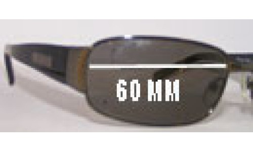 Mako Sting 9481 Replacement Sunglass Lenses - 60mm Wide