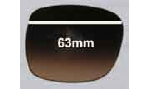 Michael Kors Pasadenas - M2711S Replacement Sunglass Lenses - 63mm wide